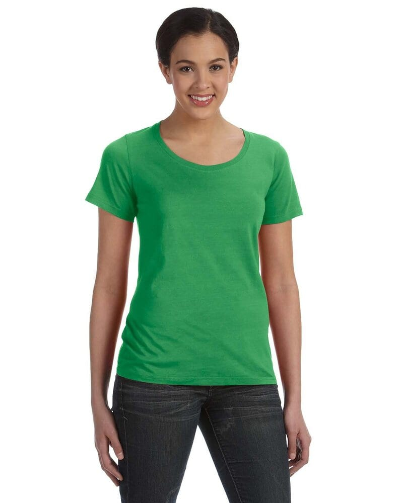 f3179e3dbfe7 Anvil 391 - Ladies' Sheer Scoopneck T-Shirt | Wordans USA