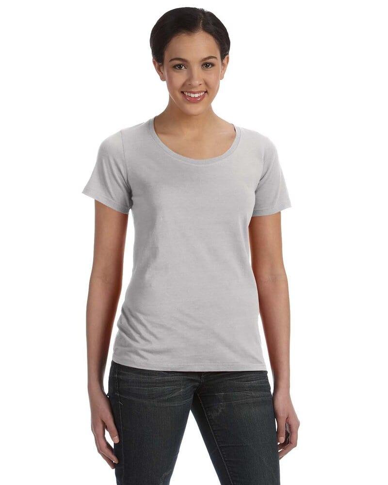 5b0bf417 Anvil 391 - Ladies' Sheer Scoopneck T-Shirt   Wordans USA