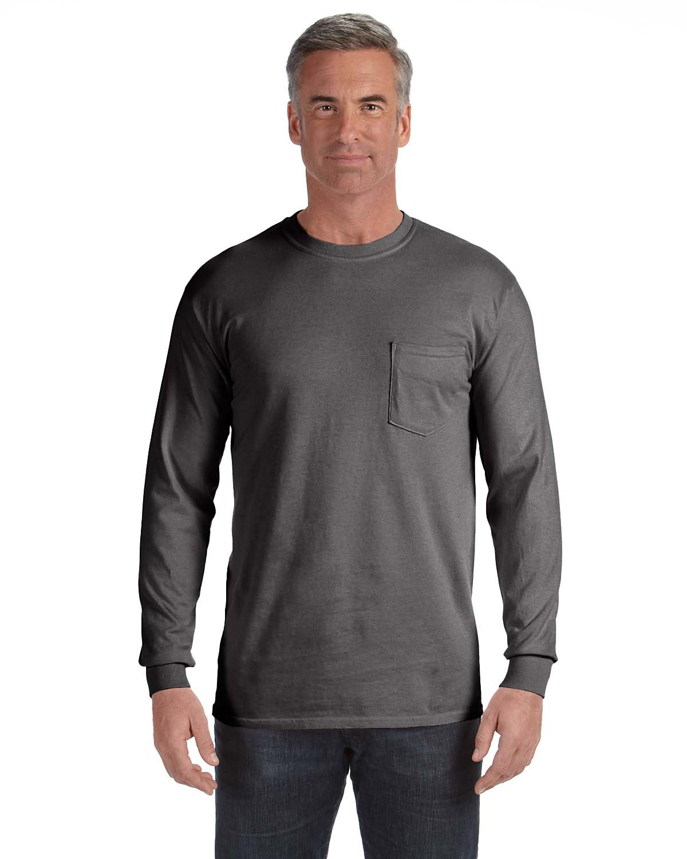 Comfort Colors 4410 - Long Sleeve Pocket T-Shirt  e7173210c97