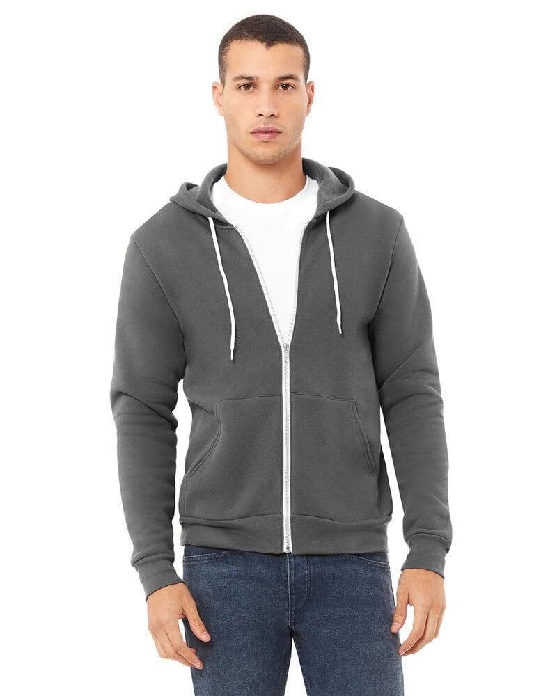 ab8d8c9f9 Bella+Canvas 3739 - Unisex Full-Zip Hooded Sweatshirt