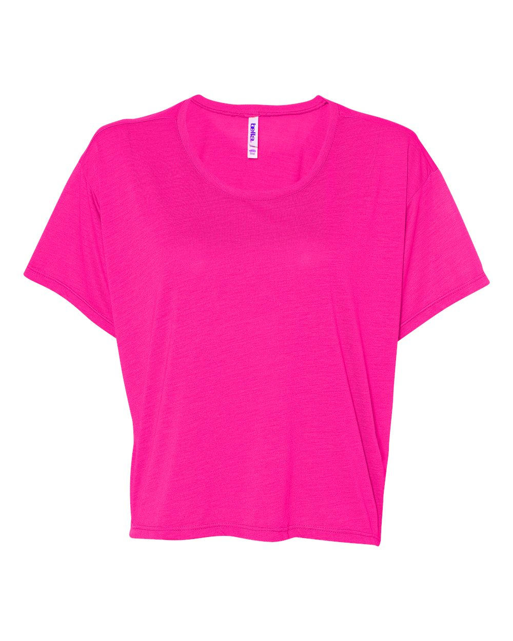 Bella Canvas 8881 - Ladies' Flowy Boxy Cropped Crewneck T-Shirt