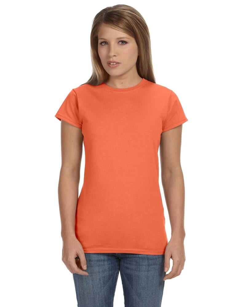36aad41c Gildan 64000L - Ladies' Softstyle T-Shirt | Wordans USA