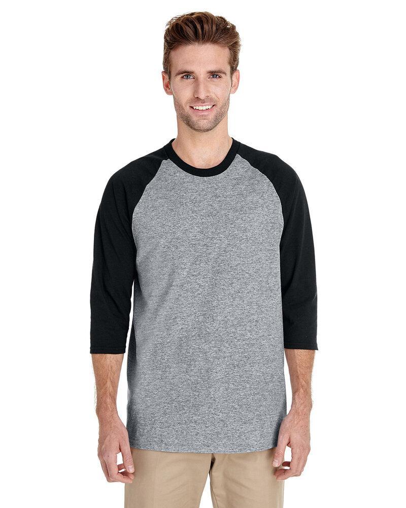 Sleeve Three-quarter Cotton T-shirt 5700 Gildan Raglan - Heavy