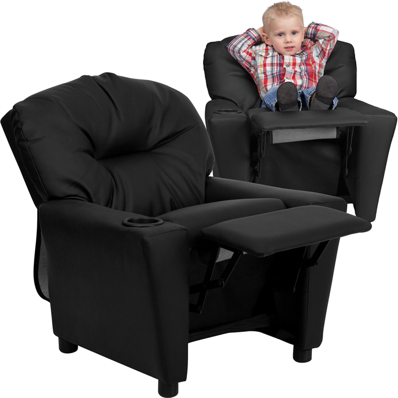 sc 1 st  Wordans & Wordans Home BT-7950-KID - Contemporary Kids Recliner with Cup Holder islam-shia.org