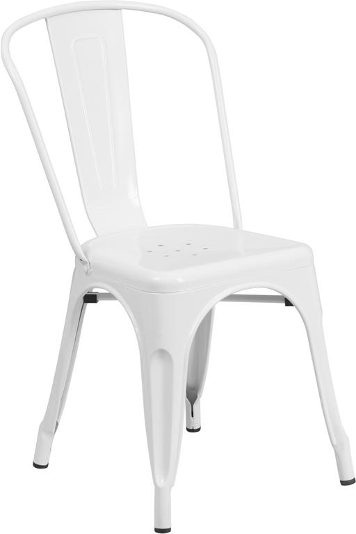 Flash Furniture CH 31230 ET 3534   Metal Indoor Outdoor Stackable Chair