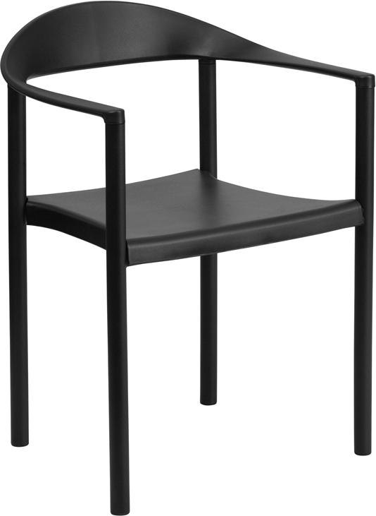 Flash Furniture RUT 418   HERCULES Series 1000 Lb. Capacity Plastic Cafe  Stack Chair