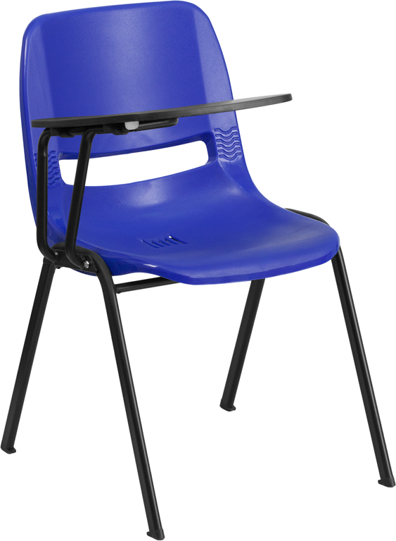 Flash Furniture RUT-EO1-RTAB - Ergonomic Shell Chair with Right ...