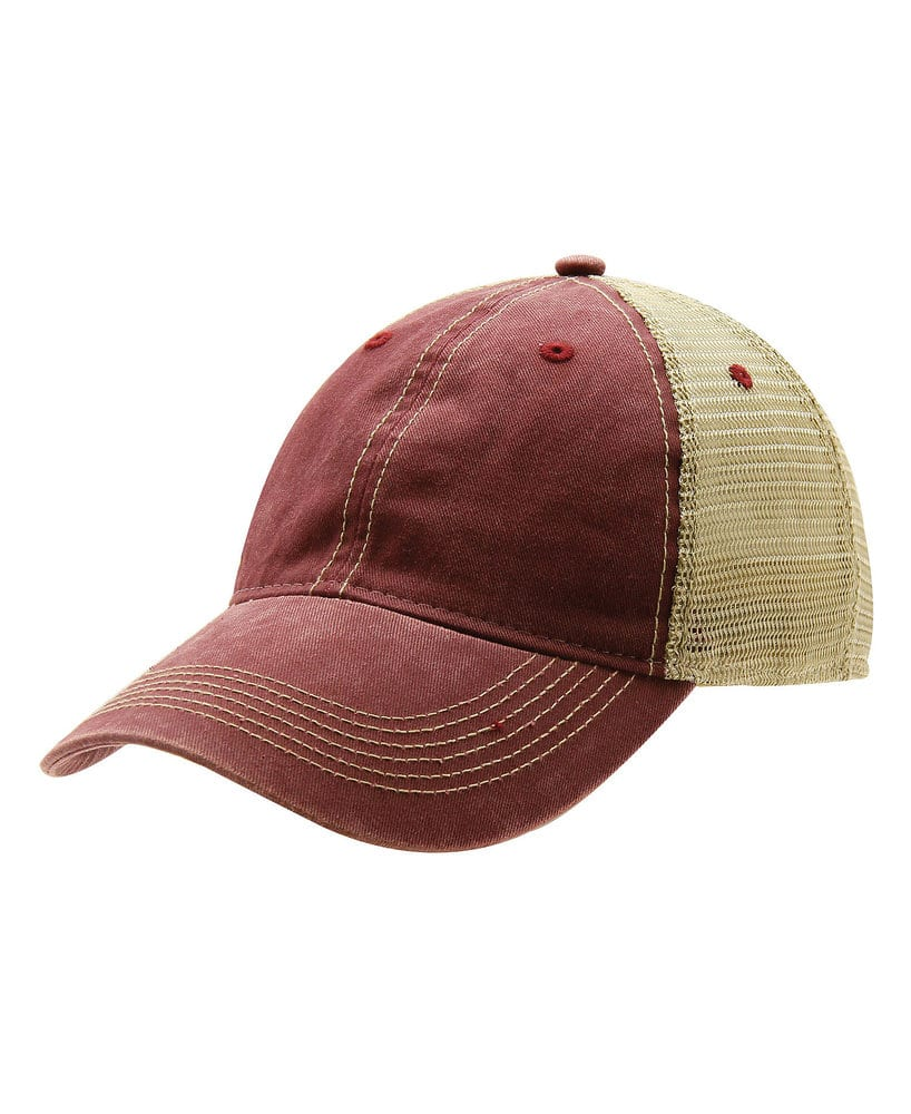 42694078d74906 Ouray Sportswear 51286 - Ouray Legend Washed Cotton Vintage Mesh Back Cap